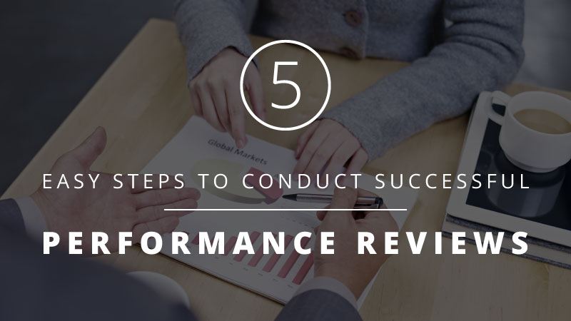 performance reviews: 5 steps blog post