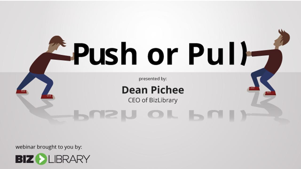 Push or Pull webinar cover