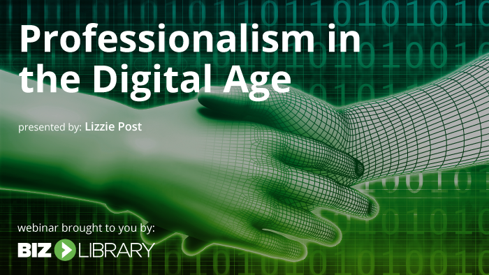 Professionalism in the Digital Age