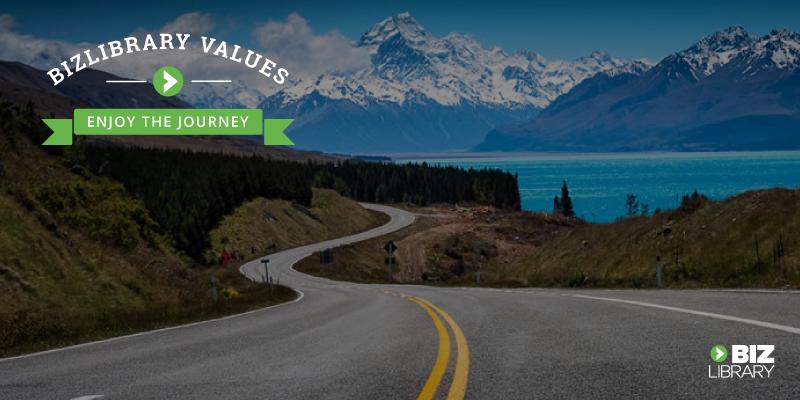 Enjoy the Journey BizLibrary Values image