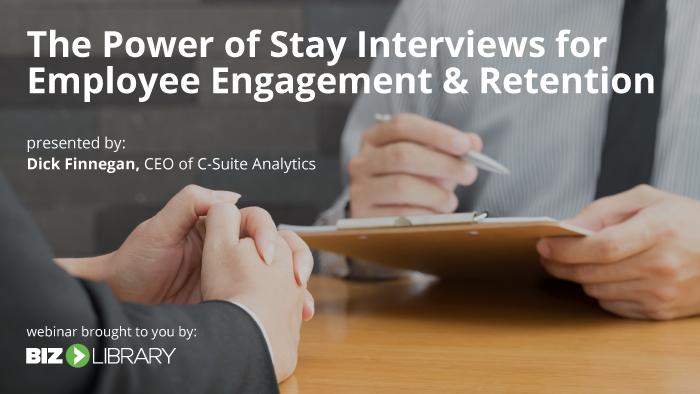 Webinar: Stay Interviews
