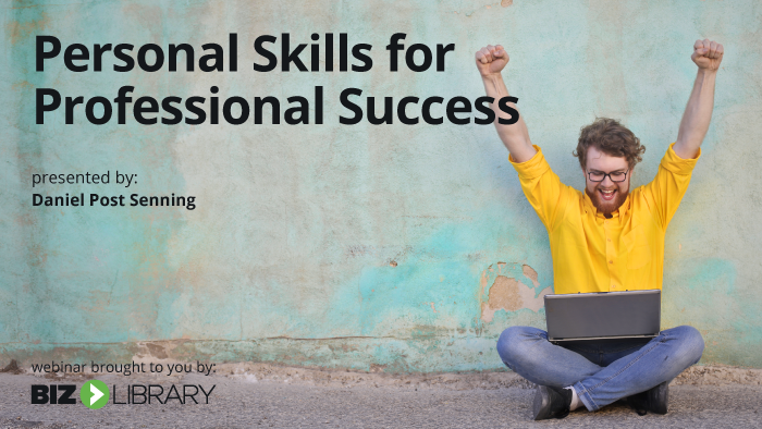 Personal Skills for Professional Success