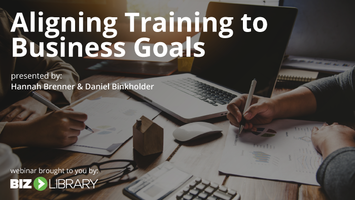Aligning Training to Business Goals