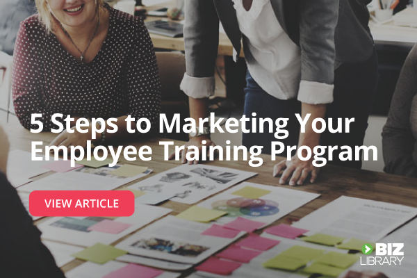 marketing employee training programs