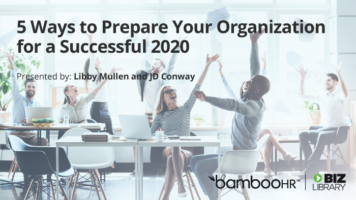 5 Ways to Prepare Your Organization for a Successful 2020