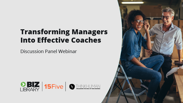 Transforming Managers into Effective Coaches