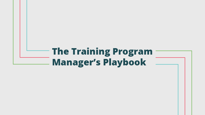 The Training Program Manager's Playbook