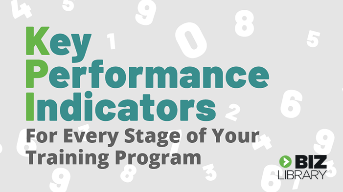 Key Performance Indicators for Every Stage of Your Training Program