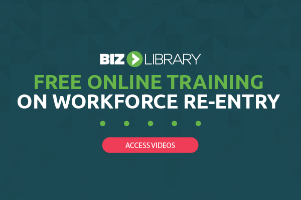 Free online training on workforce re-entry