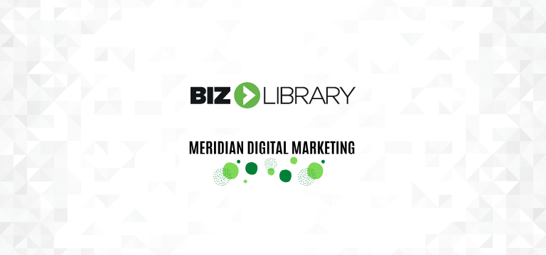 BizLibrary and Meridian Digital Marketing