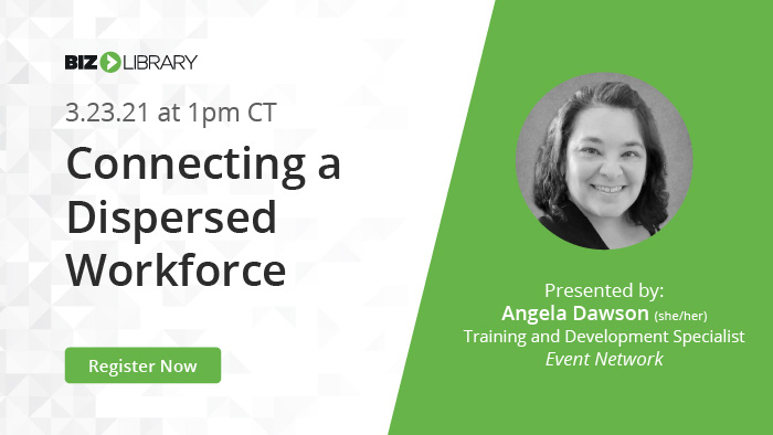 Connecting a Dispersed Workforce with Online Training